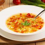 Pasta e lenticchie, con carote e sedano (per una persona)